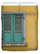 Window Shutter Duvet Cover