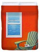Window To The Sea No. 1 - Seashell Duvet Cover