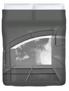 Window To The Sun - 4 - Bw Duvet Cover