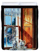 Window Treasures Duvet Cover