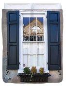 Window X Duvet Cover