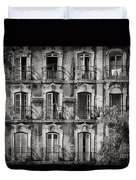Windows And Balconies 2 Duvet Cover