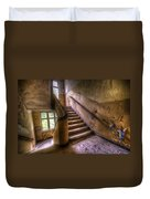 Windows And Stairs Duvet Cover