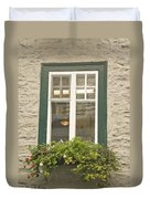 Windows Of Quebec 2 Duvet Cover