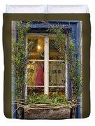 Windows Of Quebec 3 Duvet Cover