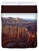 Windows Of Rock Duvet Cover