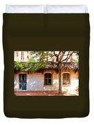 Windows Of Savannah Duvet Cover