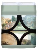 Windows Of Venice View From Art Academy Duvet Cover