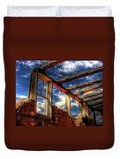 Windows To The Past Duvet Cover