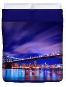 Winds And Lights Duvet Cover