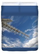 Winds Of Time Duvet Cover