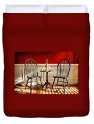 Windsor Chairs Duvet Cover
