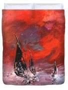 Windsurf Impression 02 Duvet Cover