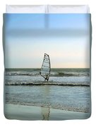 Windsurfing Duvet Cover by Ben and Raisa Gertsberg