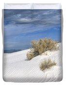 Windswept - White Sands National Monument Duvet Cover