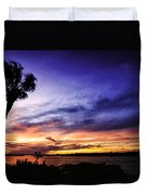 Windy Evening Duvet Cover