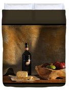 Wine And Cheese 1 Duvet Cover