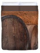Wine Barrel Duvet Cover