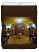 Wine Cave Duvet Cover