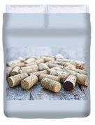 Wine Corks Duvet Cover