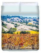 Wine Country Napa C.a. Duvet Cover