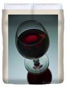 Wine Glass 2 Duvet Cover