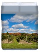 Wine In Waiting Duvet Cover