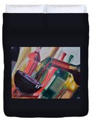 Wine Pour IIi Duvet Cover by Donna Tuten