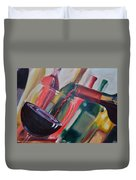 Wine Pour IIi Duvet Cover