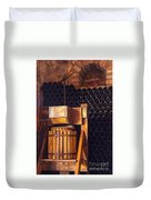 Wine Press Duvet Cover