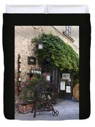 Wine Shop Duvet Cover