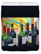 Wine Tasting Duvet Cover