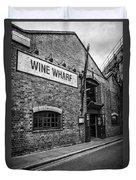 Wine Warehouse Duvet Cover