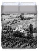Wine Yard Duvet Cover