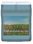 Wineglass Treeline Duvet Cover