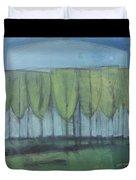 Wineglass Trees Duvet Cover