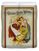 Winery Art Duvet Cover