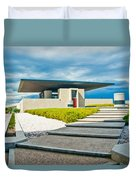 Winery Modernism Duvet Cover