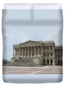Wing Of The Capitol - Washington Dc  Duvet Cover