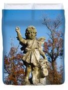 Winged Girl 3 Duvet Cover