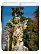 Winged Girl 8 Duvet Cover