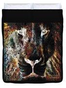 Winged Lion Duvet Cover