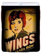 Wings Of Yesterday Duvet Cover