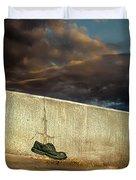 Wingtips  Duvet Cover by Bob Orsillo
