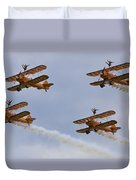 Wingwalkers  Perfect Sync Duvet Cover