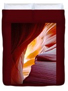 Wink In Lower Antelope Canyon In Page-arizona Duvet Cover