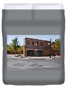 Winslow Arizona - Such A Fine Sight To See Duvet Cover by Christine Till