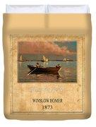Winslow Homer 1 Duvet Cover