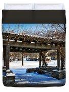 Winter Arbor Duvet Cover