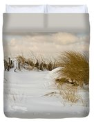 Winter At The Beach 3 Duvet Cover